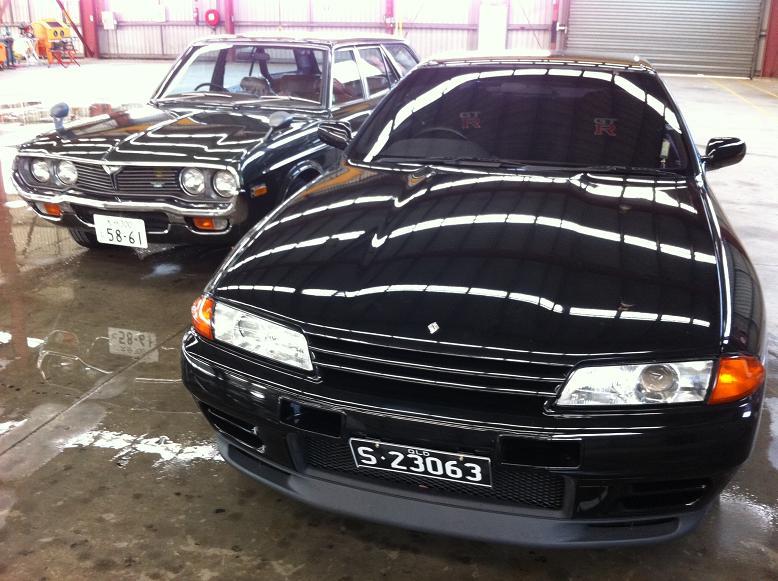 Nissan Skyline GTR - front view